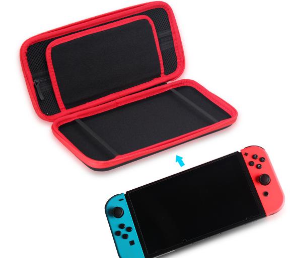 現貨高品質 nintendo Switch 遊戲機收納包switch包 switchEVA包 15