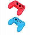 Switch Joy-Con小手柄手把握把 NS左右手柄遊戲托把2個裝 4