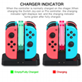 Newest 4 in 1 Charging Stand For Nintendo Switch Joy Controller charger station