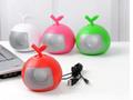 Fruit Bluetooth Speaker Portable Mini Card Support FM Radio Hands Free 12
