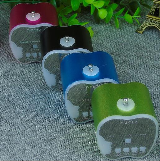 水果藍牙音箱 創意禮品挂繩便攜式迷你插卡無線藍牙音響 20