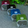 Fruit Bluetooth Speaker Portable Mini Card Support FM Radio Hands Free 20