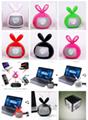 Fruit Bluetooth Speaker Portable Mini Card Support FM Radio Hands Free 19