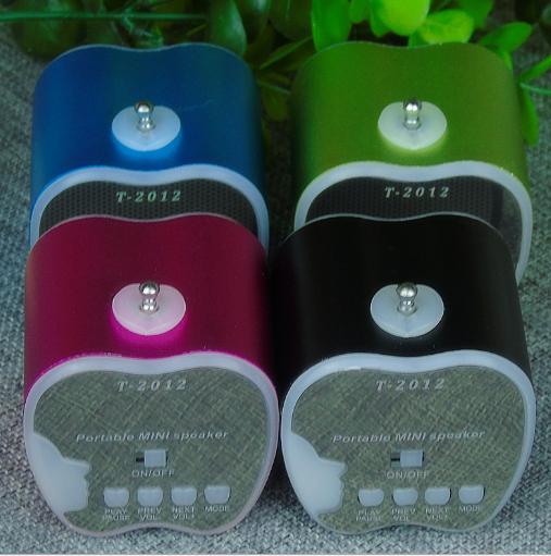 水果藍牙音箱 創意禮品挂繩便攜式迷你插卡無線藍牙音響 15