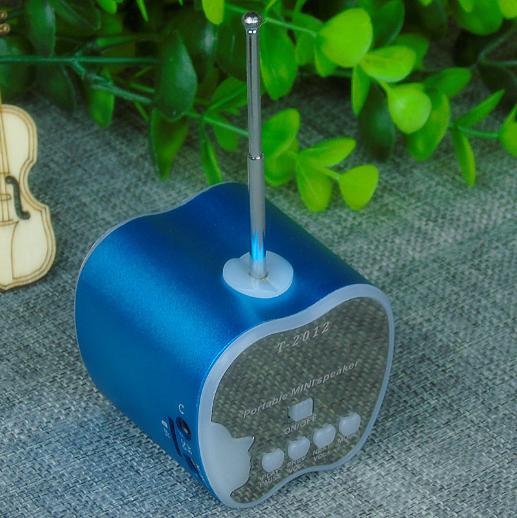 水果藍牙音箱 創意禮品挂繩便攜式迷你插卡無線藍牙音響 16