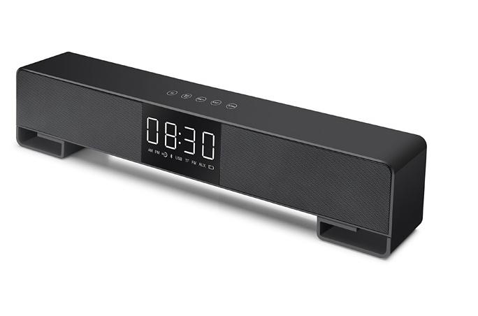 闹钟音箱音响无线蓝牙低音炮新款创意床头音箱 9