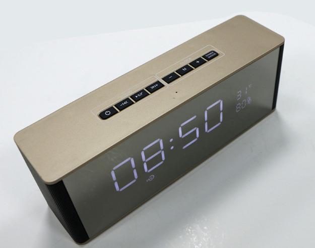 闹钟音箱音响无线蓝牙低音炮新款创意床头音箱 11