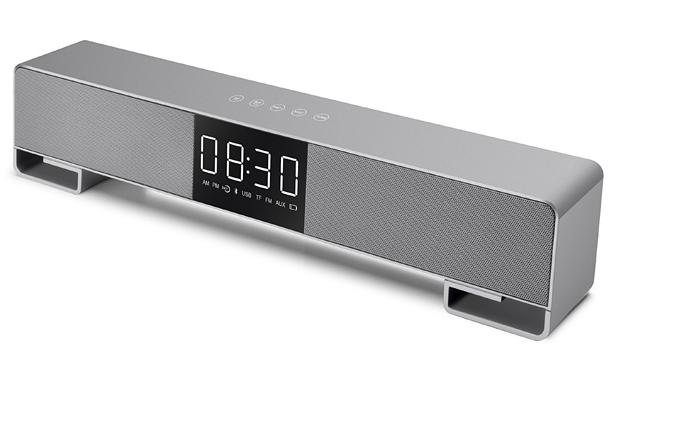 闹钟音箱音响无线蓝牙低音炮新款创意床头音箱 10