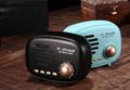 新款蓝牙音响无线收音机复古迷你促销电子礼品家居便捷插卡小音箱 13