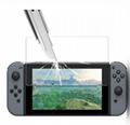 現貨Nintendo Switch鋼化膜套裝NS防塵塞套裝 Switch藍光高清膜 9