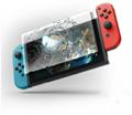 現貨Nintendo Switch鋼化膜套裝NS防塵塞套裝 Switch藍光高清膜 5