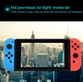 現貨Nintendo Switch鋼化膜套裝NS防塵塞套裝 Switch藍光高清膜