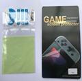 現貨Nintendo Switch鋼化膜套裝NS防塵塞套裝 Switch藍光高清膜 7