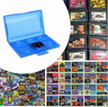 Slots Plastic Game Cards CaseVideo Game CardsStorage Box Multi Protective case