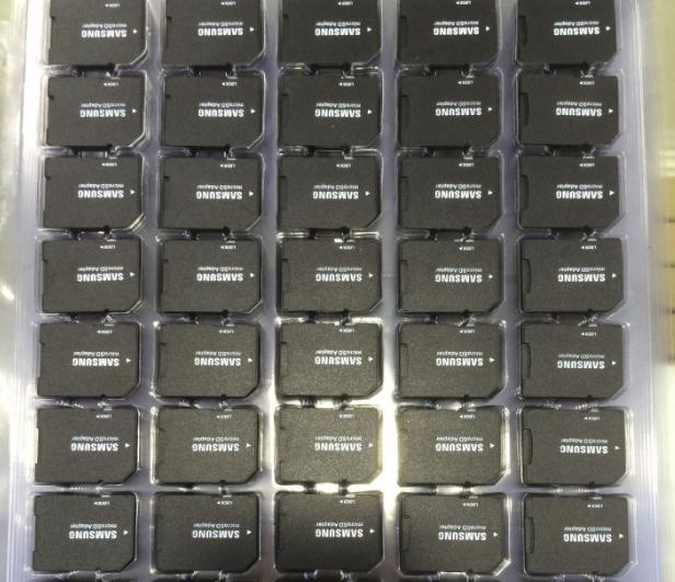 批发 Samsung三星TF内存卡TF卡套SD卡套TF卡转SD卡 小卡转大卡转换器 9