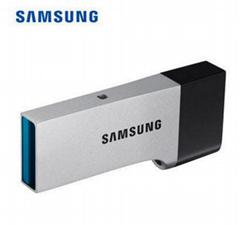 三星U盘32G,64G,128G防水车用优盘可爱车载电脑u盘高速USB3.0