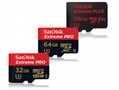 闪迪SanDisk 128GB 读速100MBs 32GB64GB16GB 8GB极速移动MicroSDHC 2