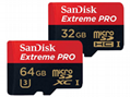 閃迪SanDisk 128GB 讀速100MBs 32GB64GB16GB 8GB極速移動MicroSDHC 3