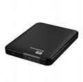 西部數據(WD)My Passport 1T 2TB 2.5英 經典黑 移動硬盤 WDBYFT0020BBK 18