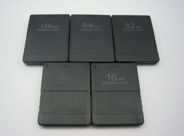 SONY ps2 Memory Card 8Mb  16MB,64MB,128MB,256MB for Playstation 2 PS2 Black 4