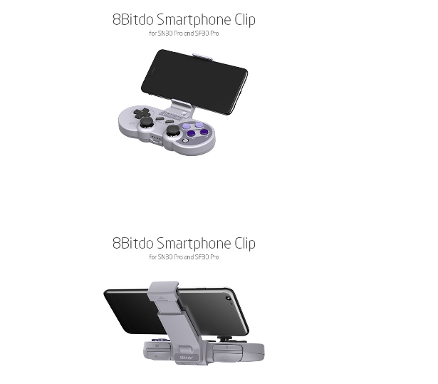 8Bitdo八位堂X機甲可拉伸手機支架SF30proSN30pro遊戲手柄支架 6