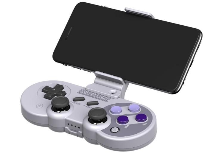 8Bitdo八位堂X機甲可拉伸手機支架SF30proSN30pro遊戲手柄支架 5