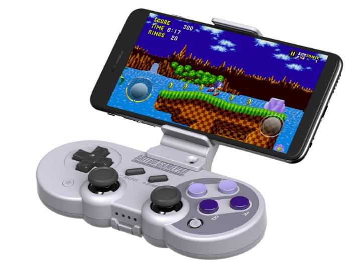 8Bitdo八位堂X機甲可拉伸手機支架SF30proSN30pro遊戲手柄支架 2