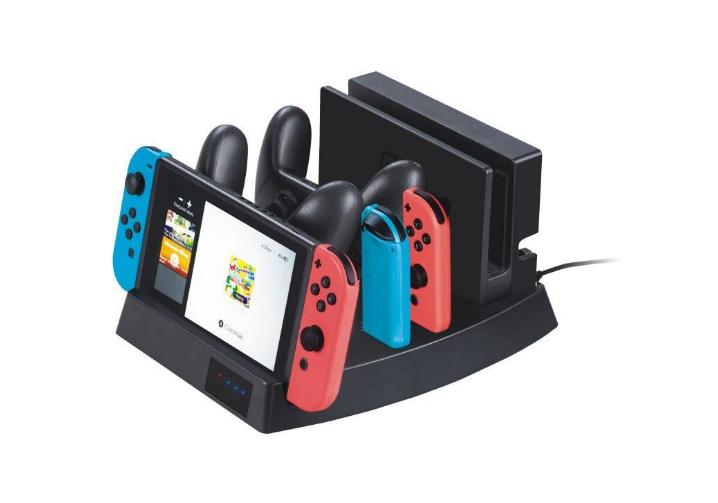 Switch三合一HDMI轉換線 Type-C電視轉換器TV電視底座 7