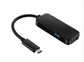 Switch三合一HDMI转换线 Type-C电视转换器TV电视底座 8