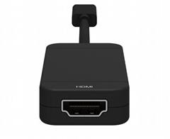 Switch三合一HDMI转换线 Type-C电视转换器TV