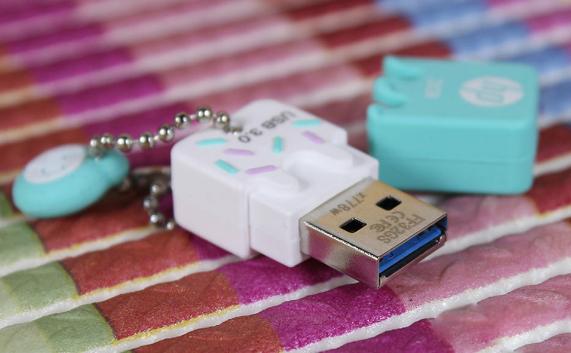 惠普mini usb闪存驱动器32GB 16GB 3.0笔驱动器x765w塑料高速闪存棒cle usb key16GB 9