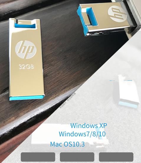 惠普mini usb闪存驱动器32GB 16GB 3.0笔驱动器x765w塑料高速闪存棒cle usb key16GB 15