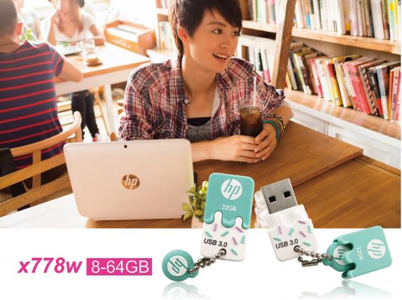 惠普mini usb闪存驱动器32GB 16GB 3.0笔驱动器x765w塑料高速闪存棒cle usb key16GB 19