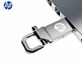 惠普V250W USB盘64GB金属Pendrive高速USB棒32GB笔驱动器2.0u盘 11