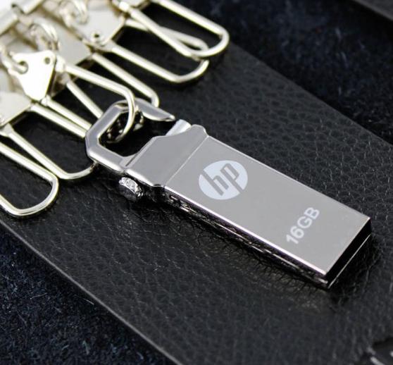 惠普V250W USB盤64GB金屬Pendrive高速USB棒32GB筆驅動器2.0u盤 13