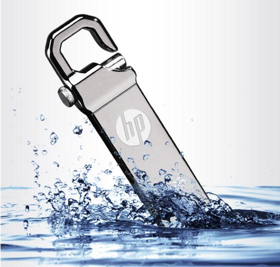 惠普V250W USB盤64GB金屬Pendrive高速USB棒32GB筆驅動器2.0u盤 8
