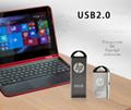 HPUSBFlash16gbPendrive Memory Stick Metal Mini USB 2.0Music Disk Cle-USBPendrive