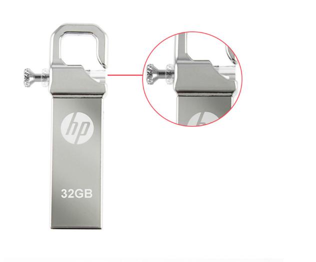惠普V250W USB盘64GB金属Pendrive高速USB棒32GB笔驱动器2.0u盘 6
