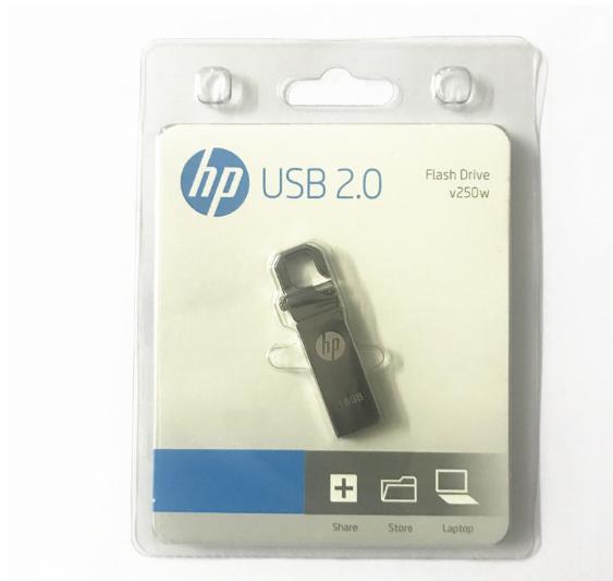 惠普V250W USB盘64GB金属Pendrive高速USB棒32GB笔驱动器2.0u盘 20