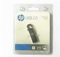 惠普V250W USB盤64GB金屬Pendrive高速USB棒32GB筆驅動器2.0u盤 20