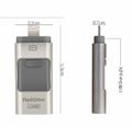 新款蘋果手機U盤64G蘋果伴侶優盤 32g三合一u盤 OTG三通手機U盤 7
