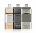 new IPHONE mobile U disk64G companion U disk 32g triple u disk OTG 8