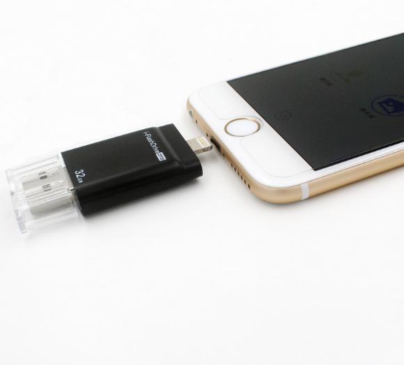 new IPHONE mobile U disk64G companion U disk 32g triple u disk OTG 18