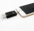 新款蘋果手機U盤64G蘋果伴侶優盤 32g三合一u盤 OTG三通手機U盤 18