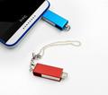 工厂直销新款创意双插头otg安卓手机电脑两用u盘32g旋转优盘3.0 8