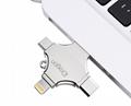 工厂直销新款创意双插头otg安卓手机电脑两用u盘32g旋转优盘3.0 14
