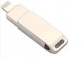 工厂直销新款创意双插头otg安卓手机电脑两用u盘32g旋转优盘3.0 19