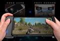 handjoy gamepad single side more comfortable mobile phone controlller all views