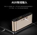 AIDU Q8 Bluetooth speaker universal radio mini speaker home overweight subwoofer 7