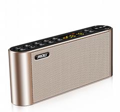 AIDU愛度 Q8藍牙音箱無線手機通用收音迷你小音響家用超重低音炮